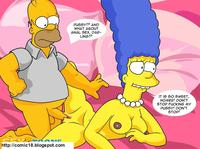 simpson porn comics adult comic marge simpson