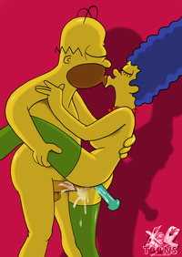 simpsons adult toons homer simpson marge simpsons toons