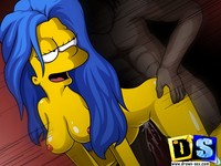 simpsons adult toons lisa simpson gangbanged