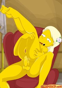 simpsons anime porn pics media original cartoon simpsons welcome comicsorgy awersome porn