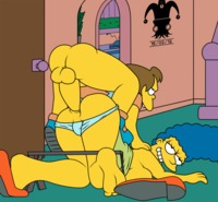 simpsons cartoon porn pic media original insatiable youngsters from simpsons show are waiting anxious search
