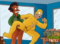 simpsons cartoon porn pic scj galleries gallery simpsons gay fucking pics