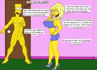 simpsons cartoon porn pics simpsons never ending porn story hentai