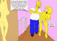 simpsons porn toon hentai comics simpsons never ending porn story