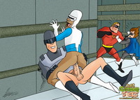 superhero toon porn pics cartoon dicks superhero gay incredible unbridled orgy