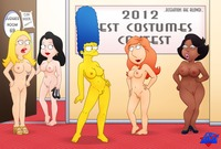 the simpson gallery porn afbeec crossover simpsons marge simpson family guy lois griffin american dad francine smith wdj hayley cleveland show donna tubbs adult roberta porn