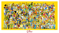 the simpson porn galleries simpsons cast poster giant