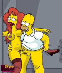 the simpsons pron gallery media original drawn hentai homer simpson mindy simmons simpsons search page