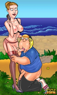 toon porn account angela chris griffin family guy futa toon