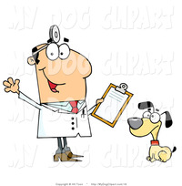 toon porn art clip art cartoon dog sitting next veterinarian man hit toon