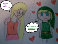 toon sex art photos rapunzel meets toon link disney crossover clubs