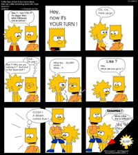 xxx cartoon comic media simpsons porn comic