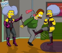 xxx sexy toon simpsons bdsm marge simpson page