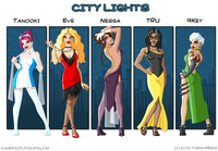 your sexy toons citylights
